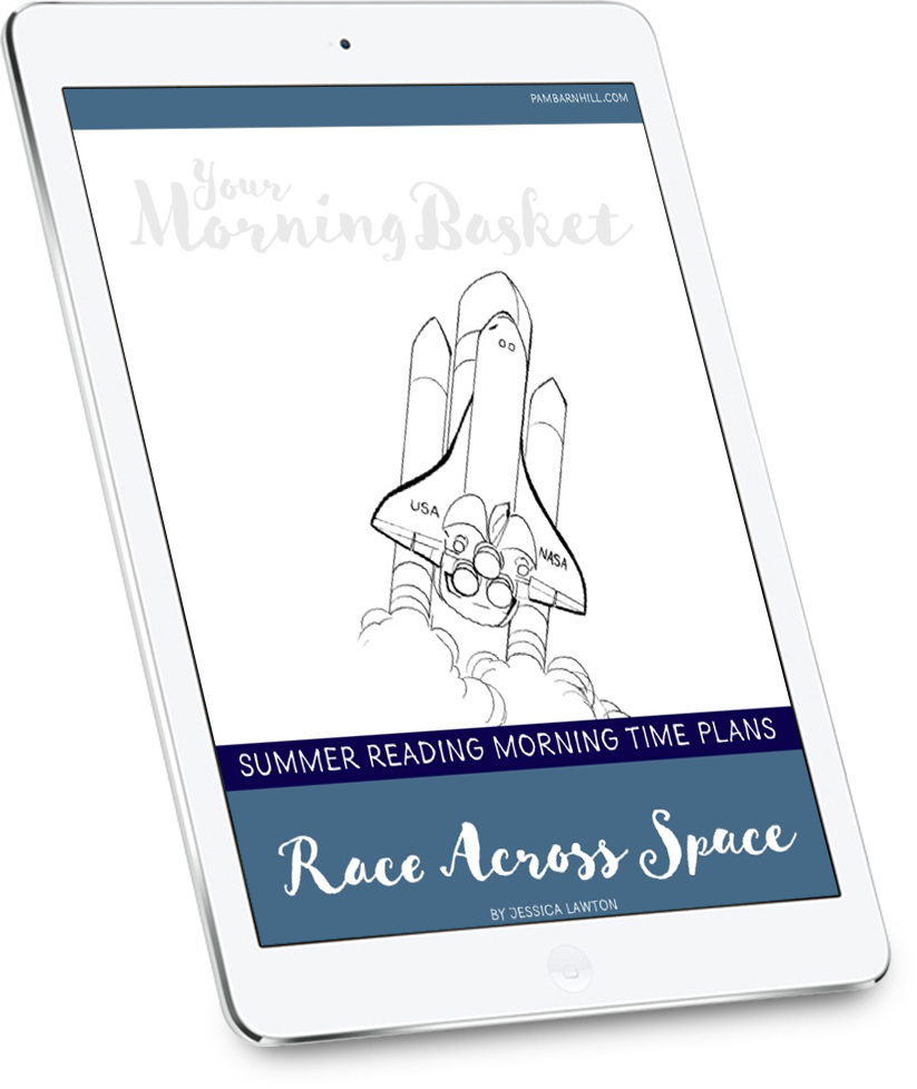 Race Across Space Summer Morning Time Plans