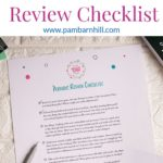 Periodic Homeschool Plan Printable Review Checklist