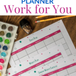 Make Your Homeschool Planner Work for You