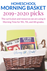 Our Plans and Picks for 2019   Homeschool Morning Time