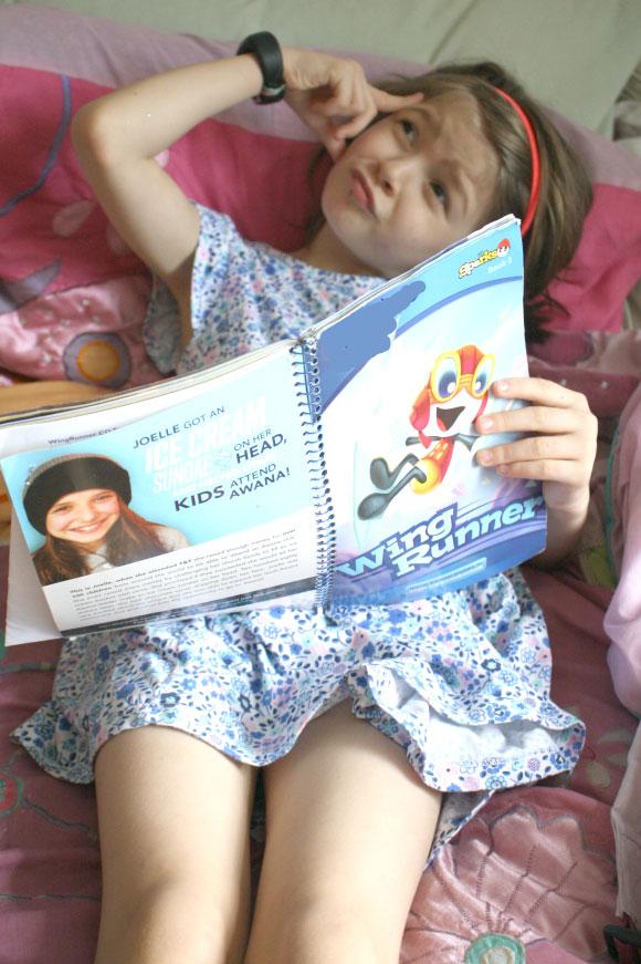Child memorizing