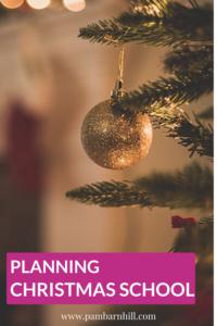 Planning Christmas School Pin