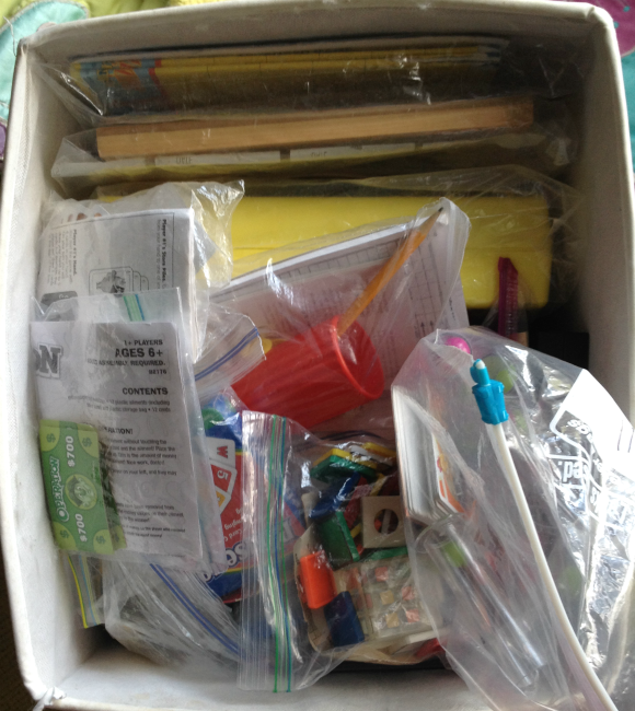 organized games in bags