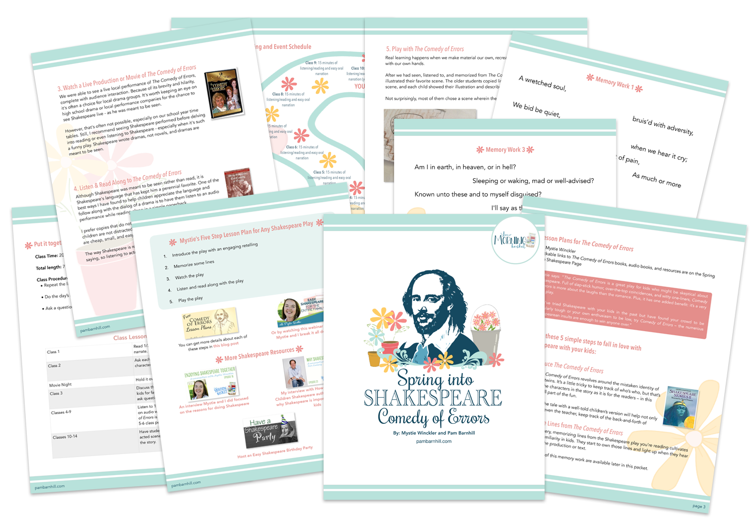 Spring into Shakespeare Challenge Pack