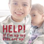 Kids in pajamas