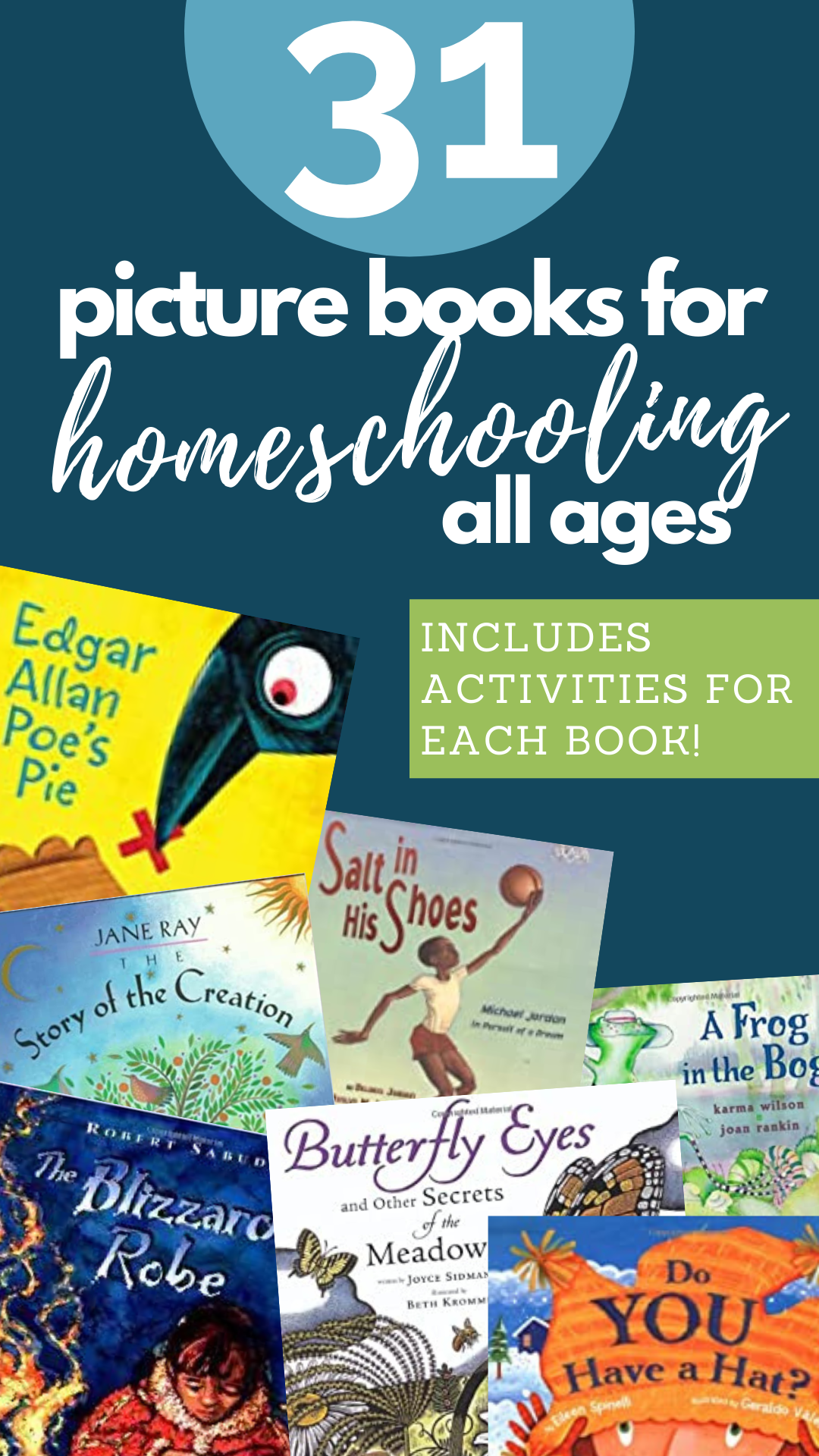 picture books for your homeschool