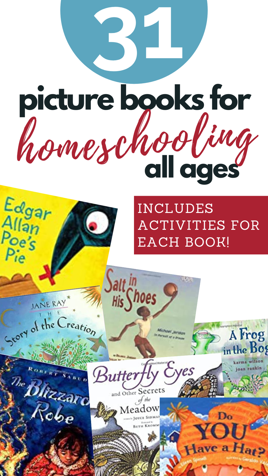 picture books for homeschool
